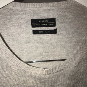 Men's All Saints Arrin Crew sweater. Size small
